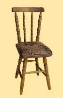 Krzeslo toczone tapicerowane nr 2