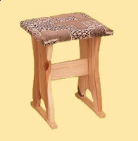 Taboret stylowy tapicer nr 11